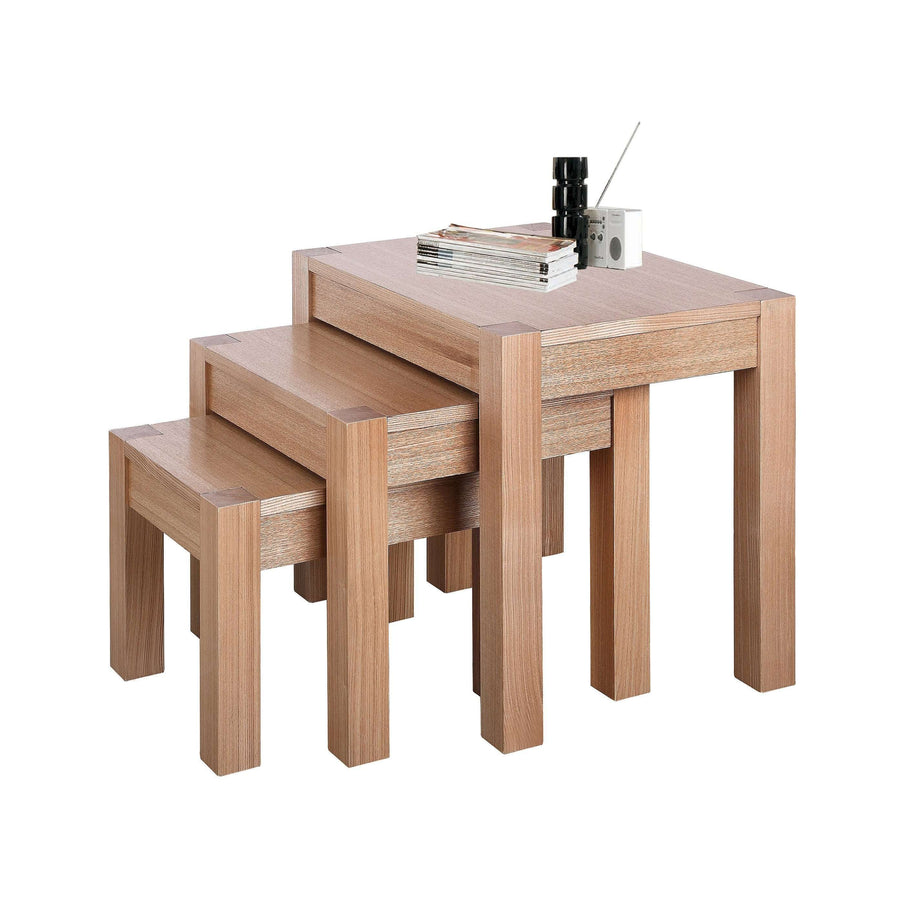 Cyprus Nest of Tables Natural Ash