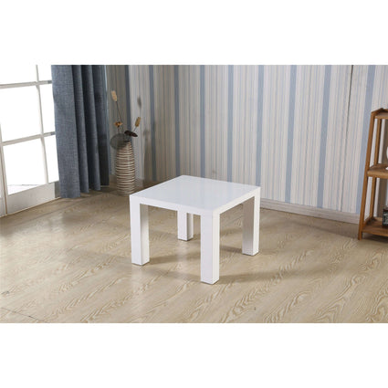 Foxley Lamp Table High Gloss White