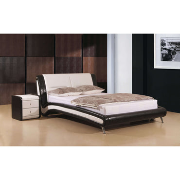 Holborn King Size Bed Black & White
