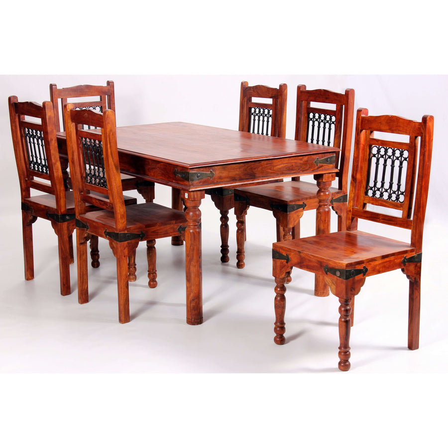 Jaipur Deco Dining Set with 6 Chairs