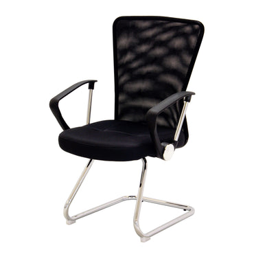 Keswick Office Chair Black & Charcoal