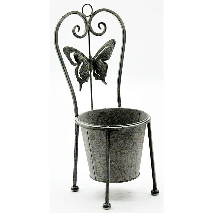 Lead Colour Planter 48cm