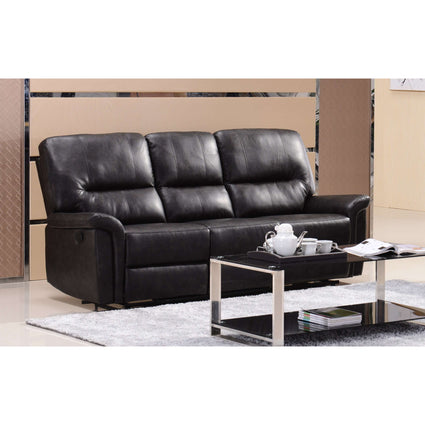 Manny Recliner Bonded PU 3 Seater