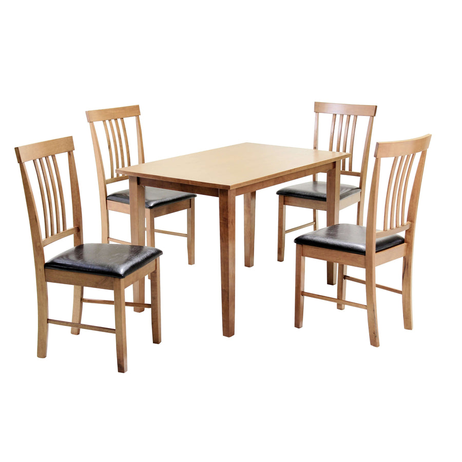 Massa Small Dining Set with 4 Chairs