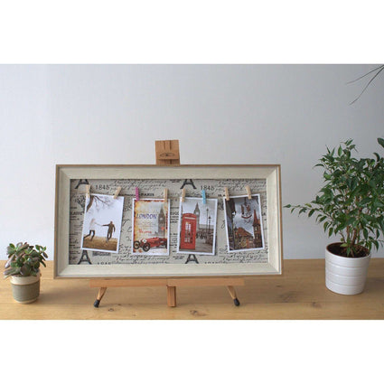 Med DIY Peg Photo Frames (30x60cm)- Paris
