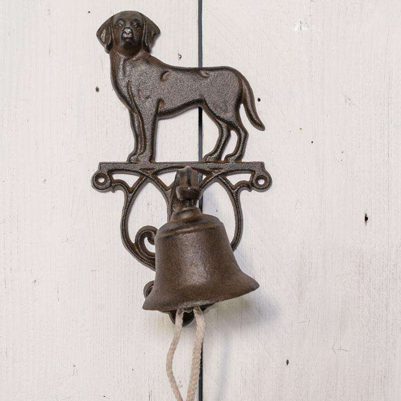 Metal Dog Doorbell 25cm