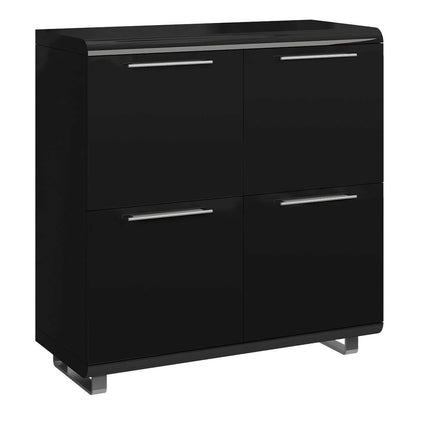Newline High Gloss Sideboard Small 4 Doors