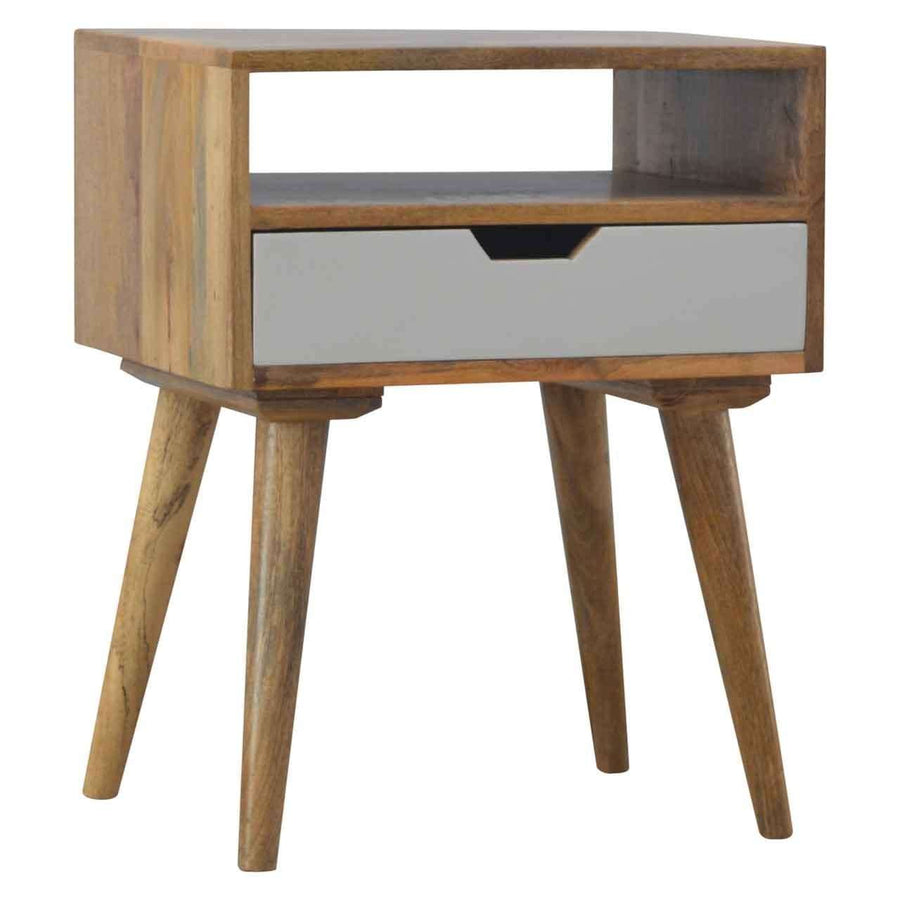 Nordic Designed Bedside with 1 Drawer