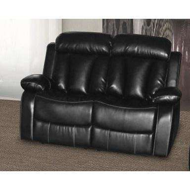 Ohio Recliner Bonded Leather & PU 2 Seater