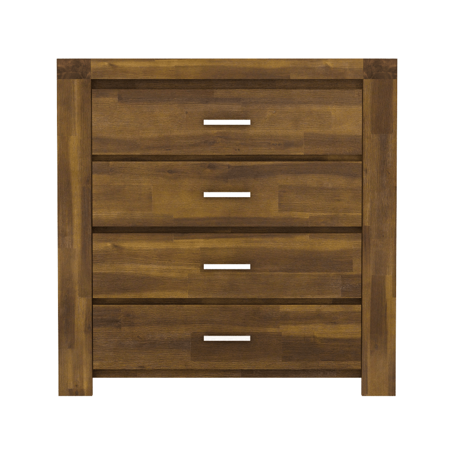 Parkfield Solid Acacia Chest 4 Drawer