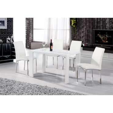 Peru Dining Set with 4 Chairs