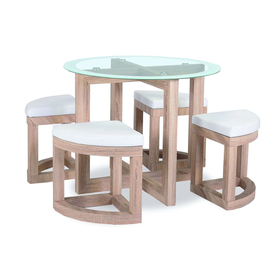 Quarry Dining Set and 4 Chairs