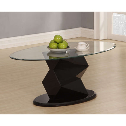 Rowley Black High Gloss Coffee Table