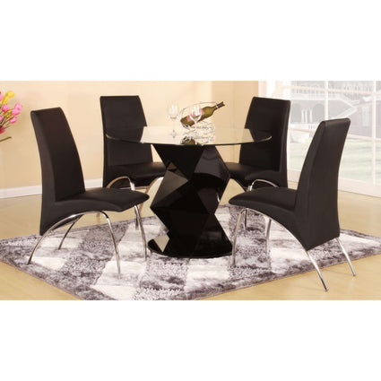 Rowley Dining Set with 4 Chairs