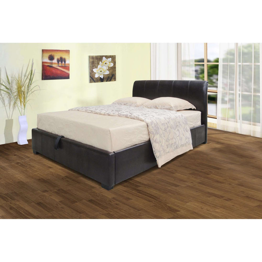 Savona Storage PU Double Bed
