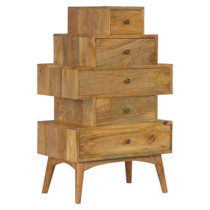 Scandinavian Style Tower Drawer Cabinet