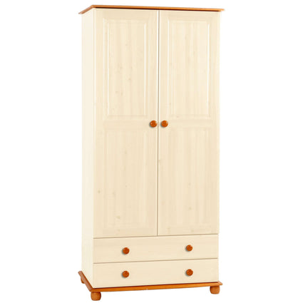 Skagen Wardrobe 2 Door & 2 Drawers