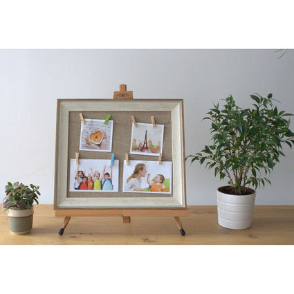 Small DIY Peg Photo Frames (30x40cm)- Jute