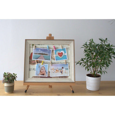 Small DIY Peg Photo Frames (30x40cm)- Mozart