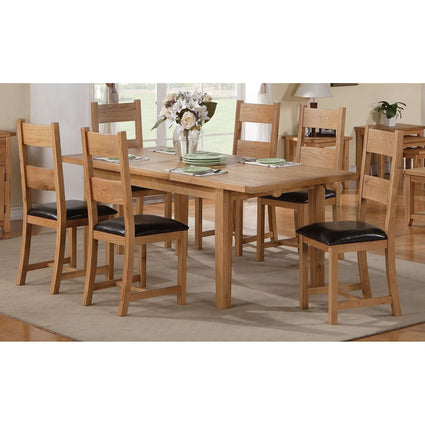 Stirling Extending Dining Set with 6 Chairs