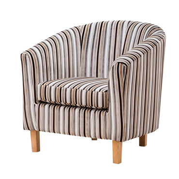 Troyte Striped Tub Chair