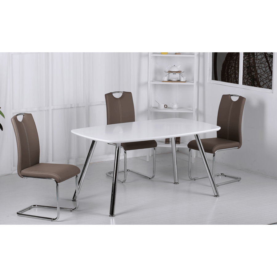Vera Dining Set with 4 Chairs