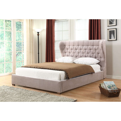 Willowbank Mink Fabric Double Bed
