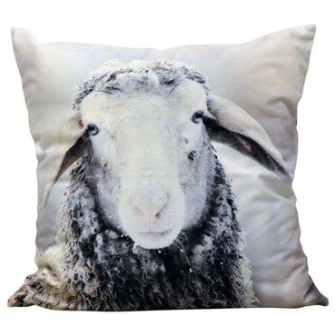 Winter Sheep Cushion 45cm