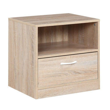 Yewtree Nighstand 1 Drawer Oak
