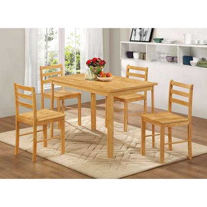 York Medium Dining Set with 4 Chairs