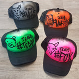 #Team Trucker Caps