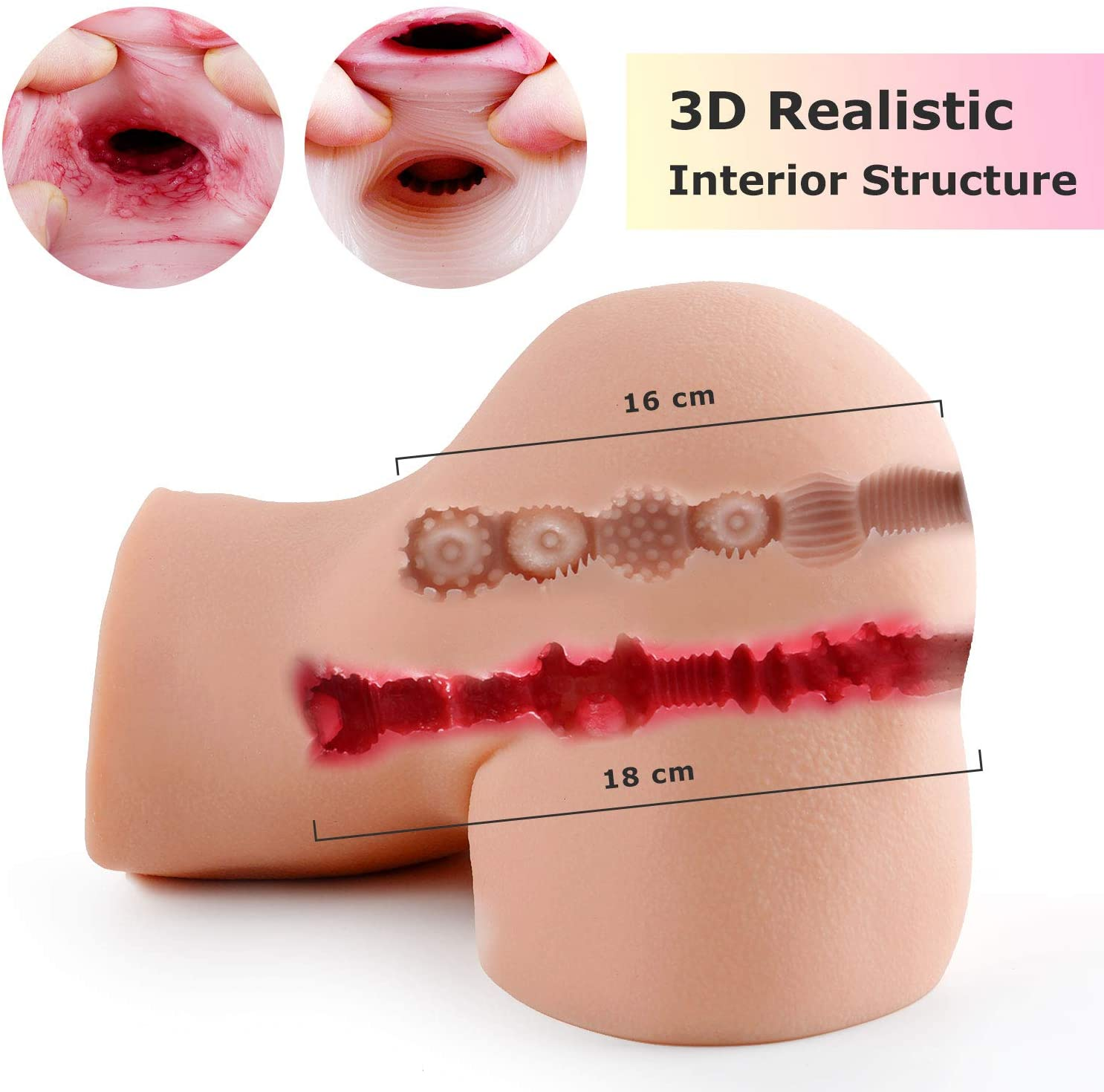Candice: 43LB Life Sized Realistic Torso Sex Doll