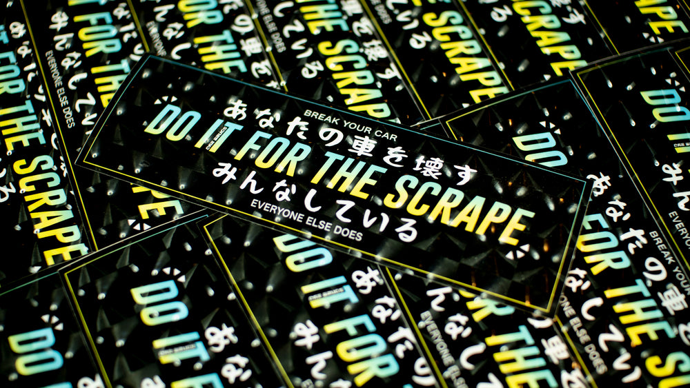 Do It For The Scrape *3D Squares*
