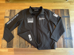 """Night Garage"" SoftShell Jacket by CarDrugs"
