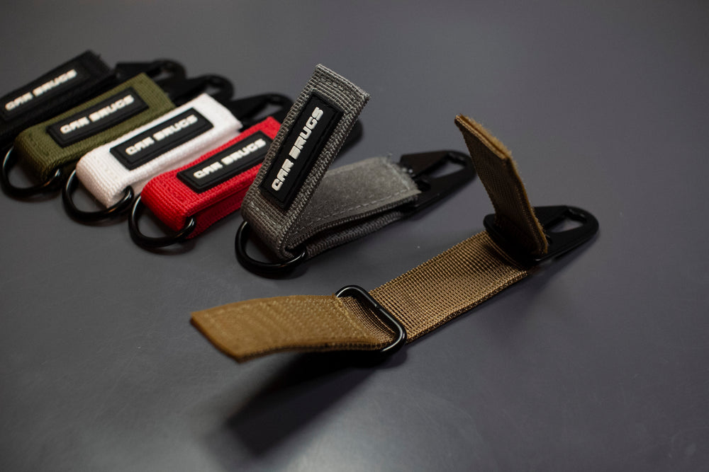 6 Pack Tactical Key Straps