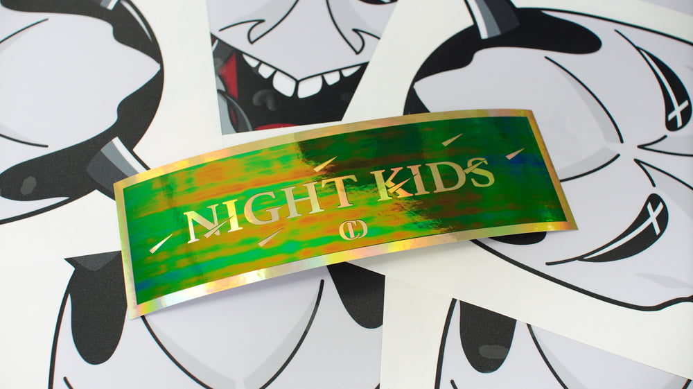 Night Kids Layered (GoldOilChrome/Swamp)