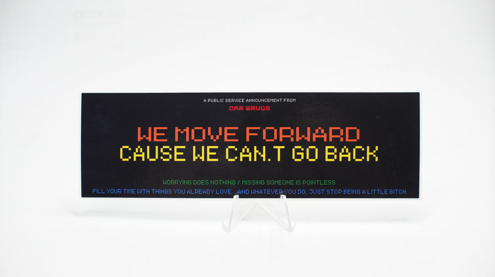 We Move Forward (Black)
