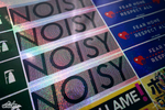 Noisy (Holographic Sparkle)