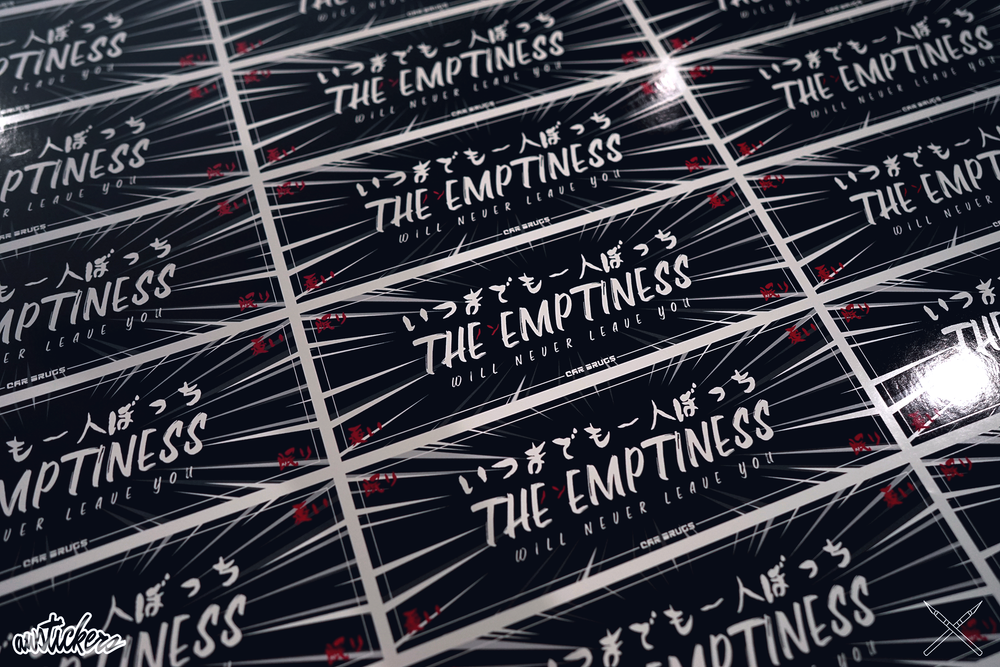 The Emptiness Will Never Leave You