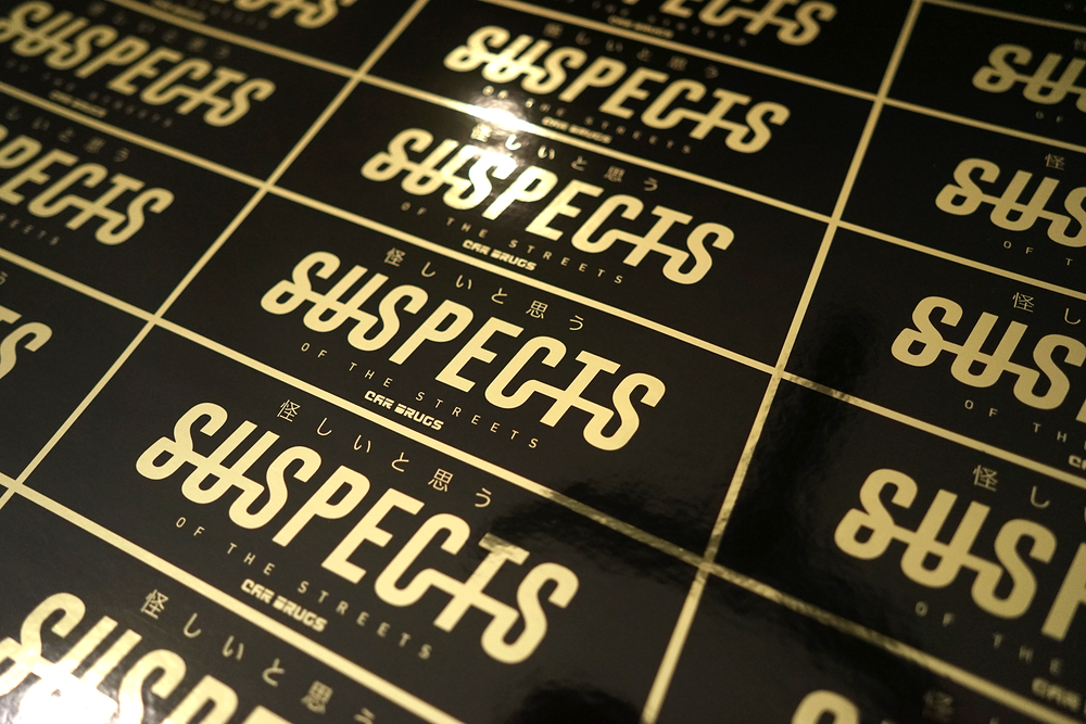 Gold Chrome Finish - Suspects of the Streets
