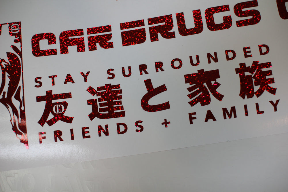 Stay Surrounded Die Cut
