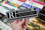 Restricted Vehicle