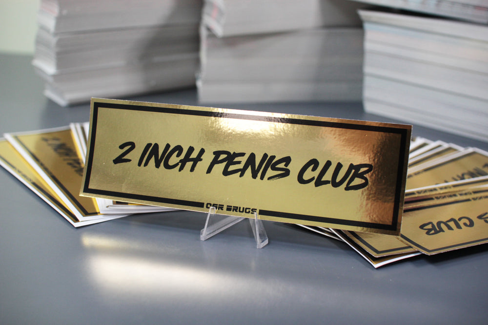 Gold Chrome - 2 Inch Penis Club