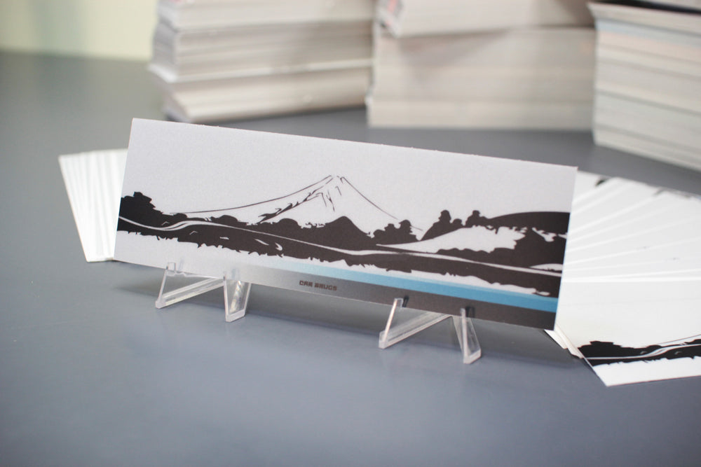 Matte Reflective - Under The Mountain - Bright