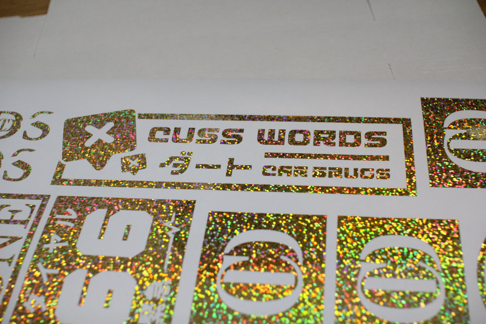 Cuss Words Die Cut