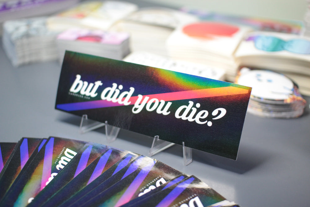 Oil Finish /// But Did You Die? - Gradient