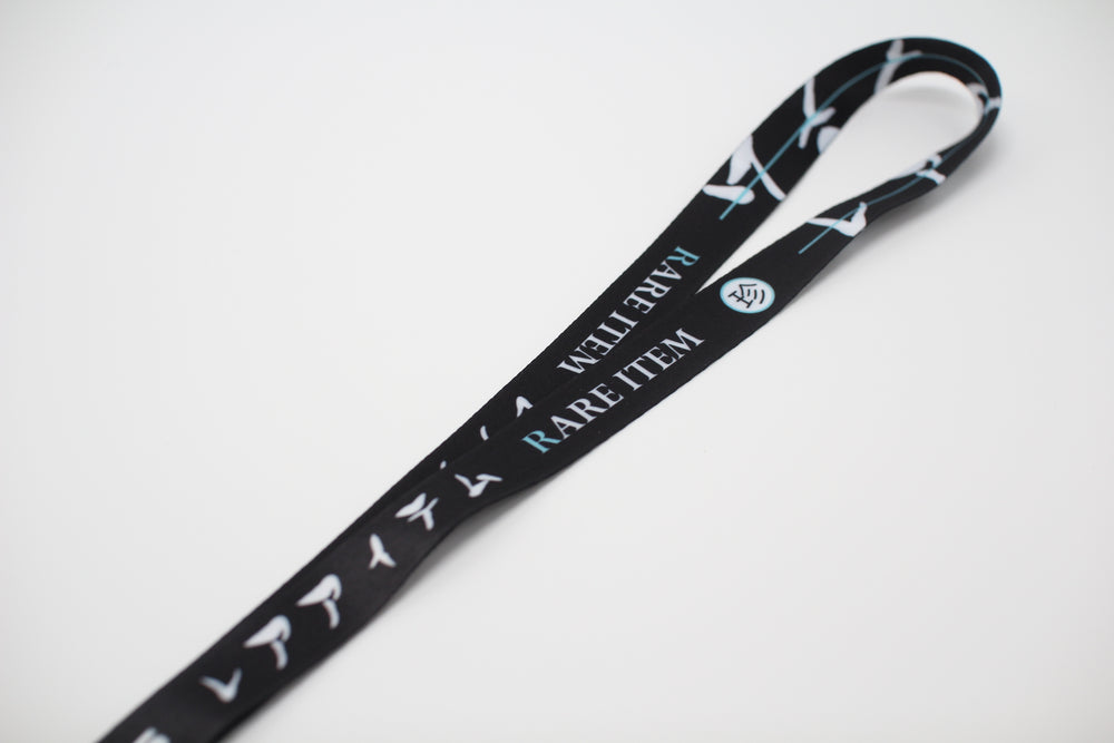 Rare Item Black Lanyard (Buy One Get One)