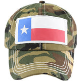 Texas Flag Hat  3 Colors Available