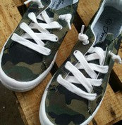 Camo Sneakers FREE US Shipping