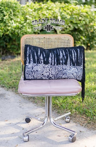 Crazy Train Fly Fringe-Python Pillow